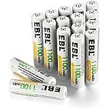 EBL 1100mAh AAA Pilas Recargables Ni-MH para los Equipos Domésticos ( 16 Unidades)