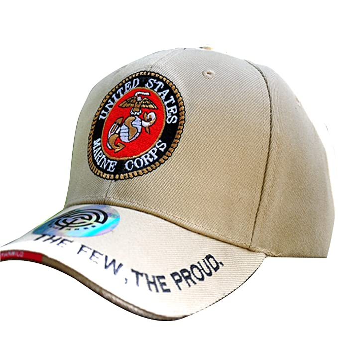BASSI-CY Unisex Embroidered Baseball Cap Hat The Marine Corps The