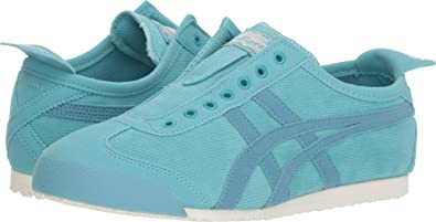 reputable site 04e1d 32ab7 Onitsuka Tiger Women s Mexico 66 Slip-on Shoes 1182A008, Blue Bell Gris Blue
