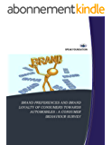 BRAND PREFERENCES AND BRAND LOYALTY OF CONSUMERS TOWARDS AUTOMOBILES : A CONSUMER BEHAVIOUR SURVEY (IJMSS Book 3) (English Edition)