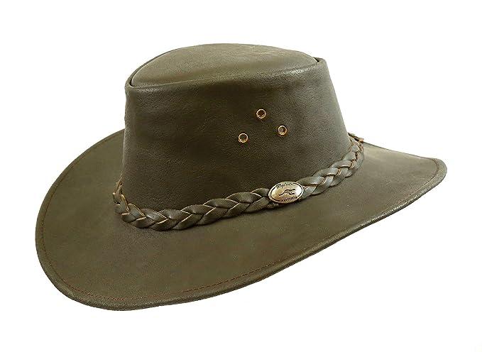 Kakadu Traders Australia - Sombrero Cowboy - para Hombre marrón Small   Amazon.es  Ropa y accesorios 3872daba69b