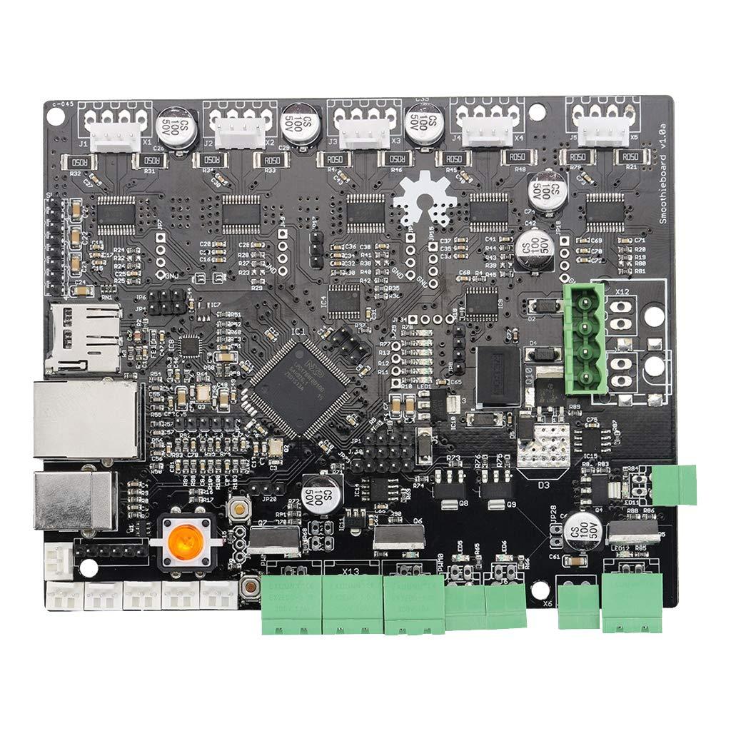 B Blesiya Smoothieboard 5X V1 Tableau de Commande d'Imprimante 3D Supporte Micrologiciel Open Source Hautement Modulaire