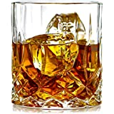 PRAX Classic Designer Crystal touch Glass set of 6 at amazon