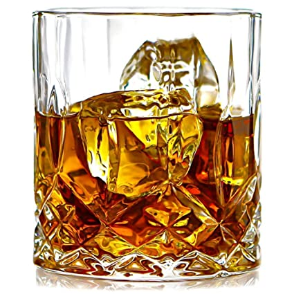 58bdb53b50d Buy PRAX Classic Designer Crystal touch Glass set of 6 Online at Low Prices  in India - Amazon.in