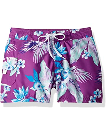 21e996b928 Kanu Surf Girls' Sassy UPF 50+ Quick Dry Beach Coverup Boardshort