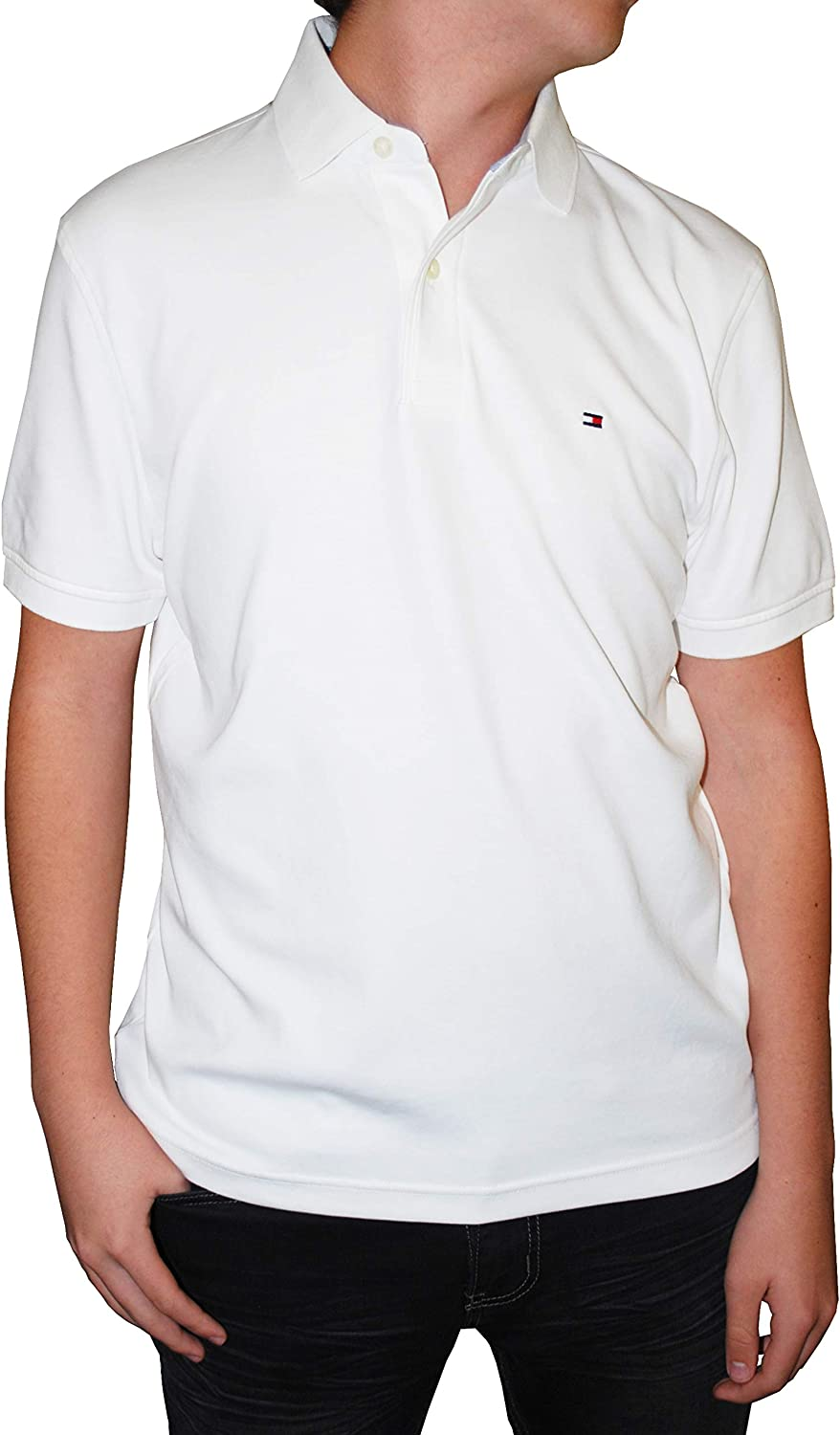 Tommy Hilfiger Men/'s Classic Short Sleeve Polo Shirt