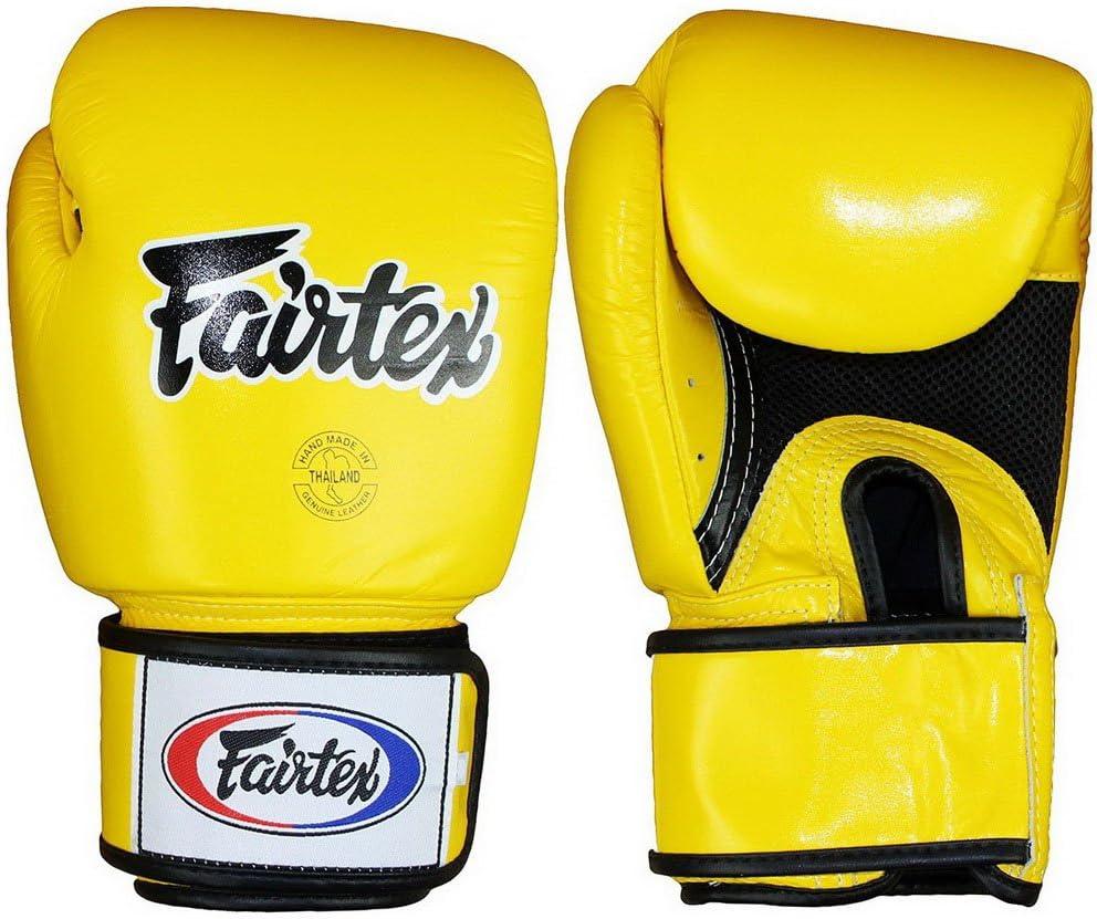 Bangplee/_Sport Fairtex TGT7 Cross-Trainer Boxing /& Bag Gloves Black Color Muay Thai Kick Boxing MMA K1