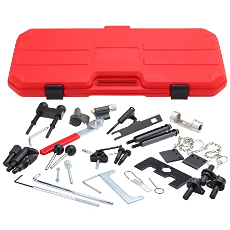VW Audi A4//A6//A8//A11 4 Cylinder Gas Diesel Engine Timing Tool Kit Full Set