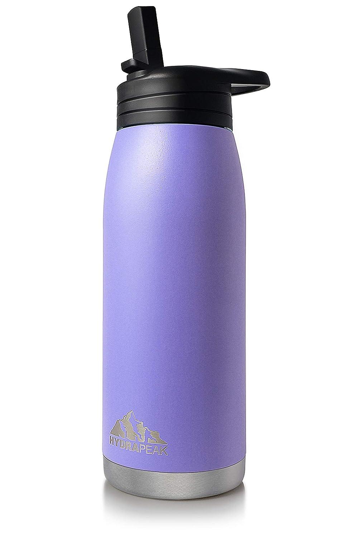 Amazon.com: Botella de agua Hydrapeak Flow de 1 litro, sin ...