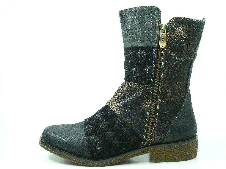 Laura Vita SL1205-8 Coralie 08 Schuhe Damen Stiefel Stiefeletten Stiefel