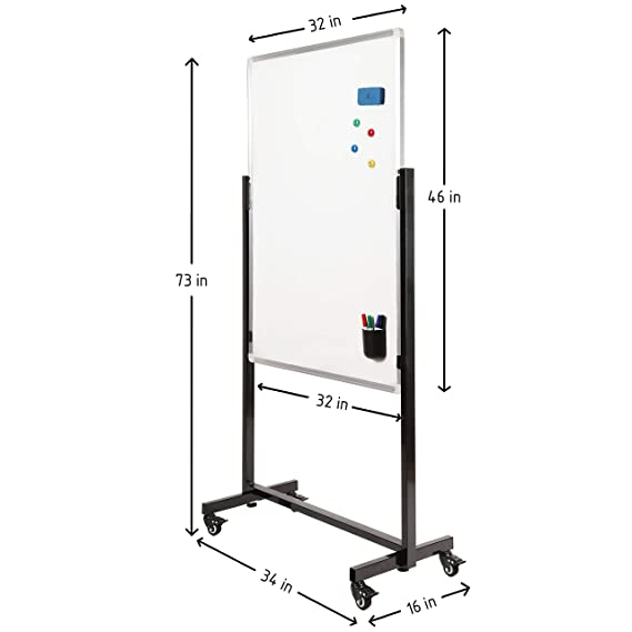 Amazon.com: Tabla de borrado en seco Easel: Office Products