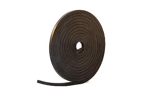 Amazon Com Solid Neoprene Black Rubber Strip 1 2 Wide X 1 2 Thick X 16 Feet Long Industrial Scientific
