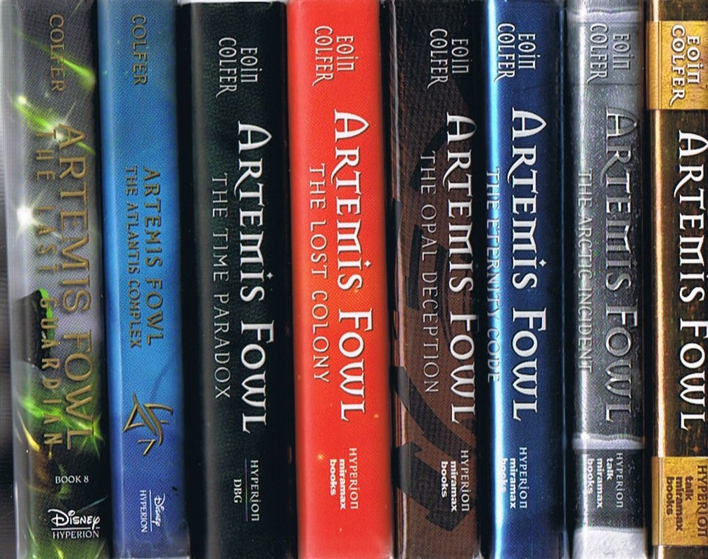 Artemis Fowl Series Volumes 1 Thru 8 Eoin Colfer Amazon Com Books