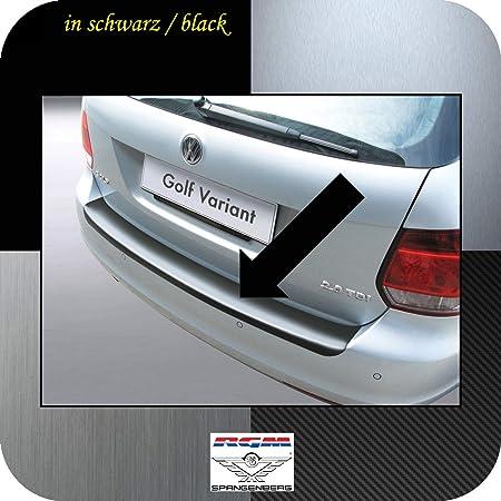 Richard Grant Mouldings Ltd. Original RGM ladekant Protección Negro para Volkswagen VW Golf Vi Variant Kombi de 5 Puertas de diseño años 07.2009 - 07.2013 ...