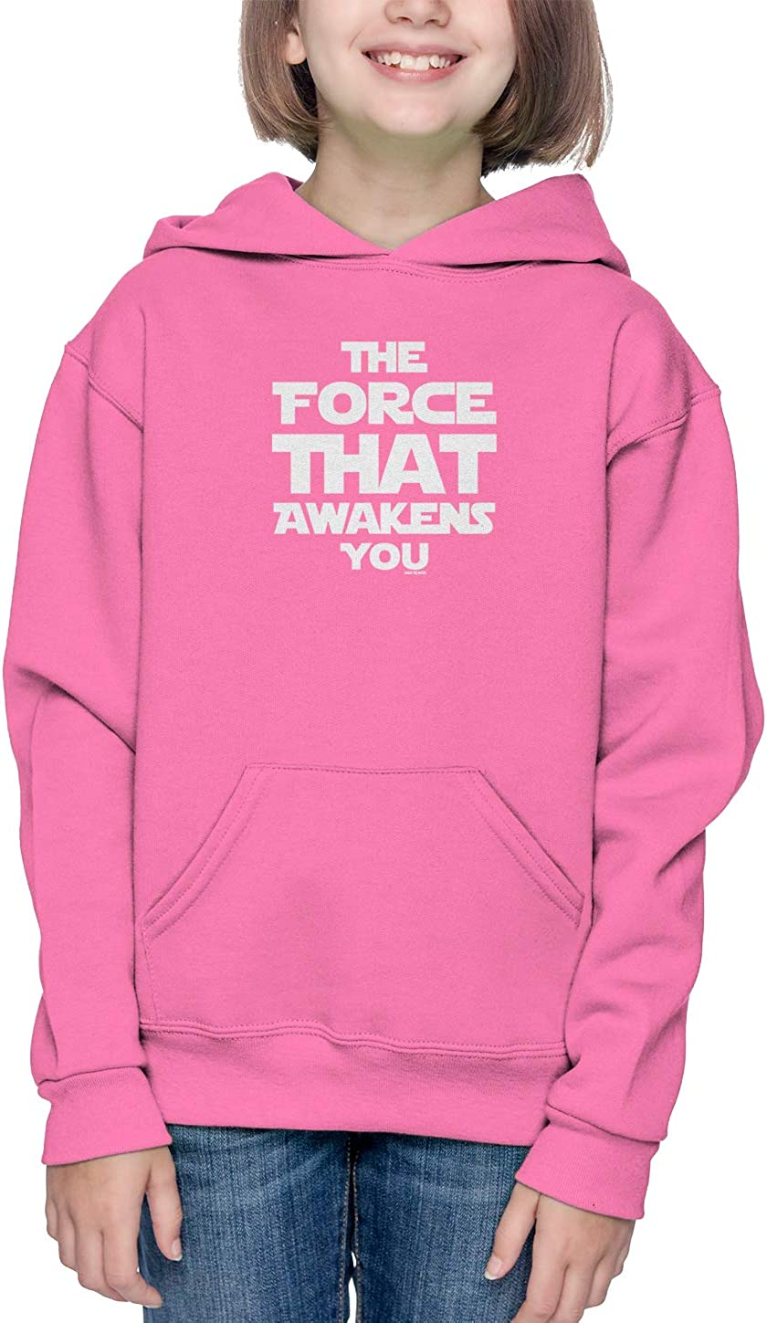 Parody Toddler//Youth Fleece Hoodie Haase Unlimited The Force That Awakens You
