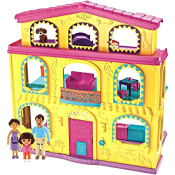 Amazon Com Fisher Price Dora The Explorer Playtime