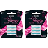 Wilkinson Sword Lady Protector+ Replacement Blades 1,2,or 3 x (pk of 5) 70041340 (2 packs of 5=10 blades)
