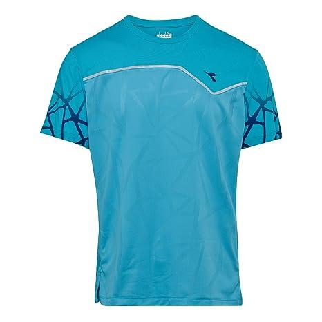 Diadora Uomini T Shirt Clay Sun Lock XXL: Amazon.it: Sport e