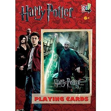Amazon.com: Harry Vs Voldemort doble cubierta de naipes por ...
