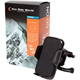 Eco Ride World スマホ ホルダー エアコン 吹き出し口 取付タイプ 安全バンドゴム付き is_071