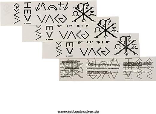 God Tattoo tarjeta 6TLG – Chi Rho – God Is Greater Than ...