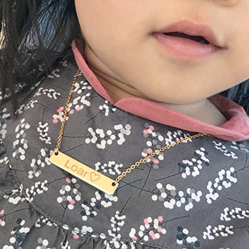 Amazon same day shipping gift til 2pm cdta personalized baby same day shipping gift til 2pm cdta personalized baby children teen name bar necklace negle Image collections