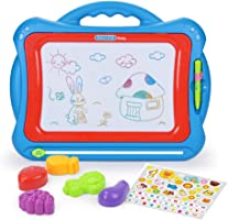 NextX Magnetic Drawing Board,Educational Writing and Learning Doodle Pad for Toddlers Boys Girls Age of 2,3,4,5,6 Year...