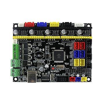 Nrpfell Accesorios de Impresora 3D Tablero de Control de la Placa ...