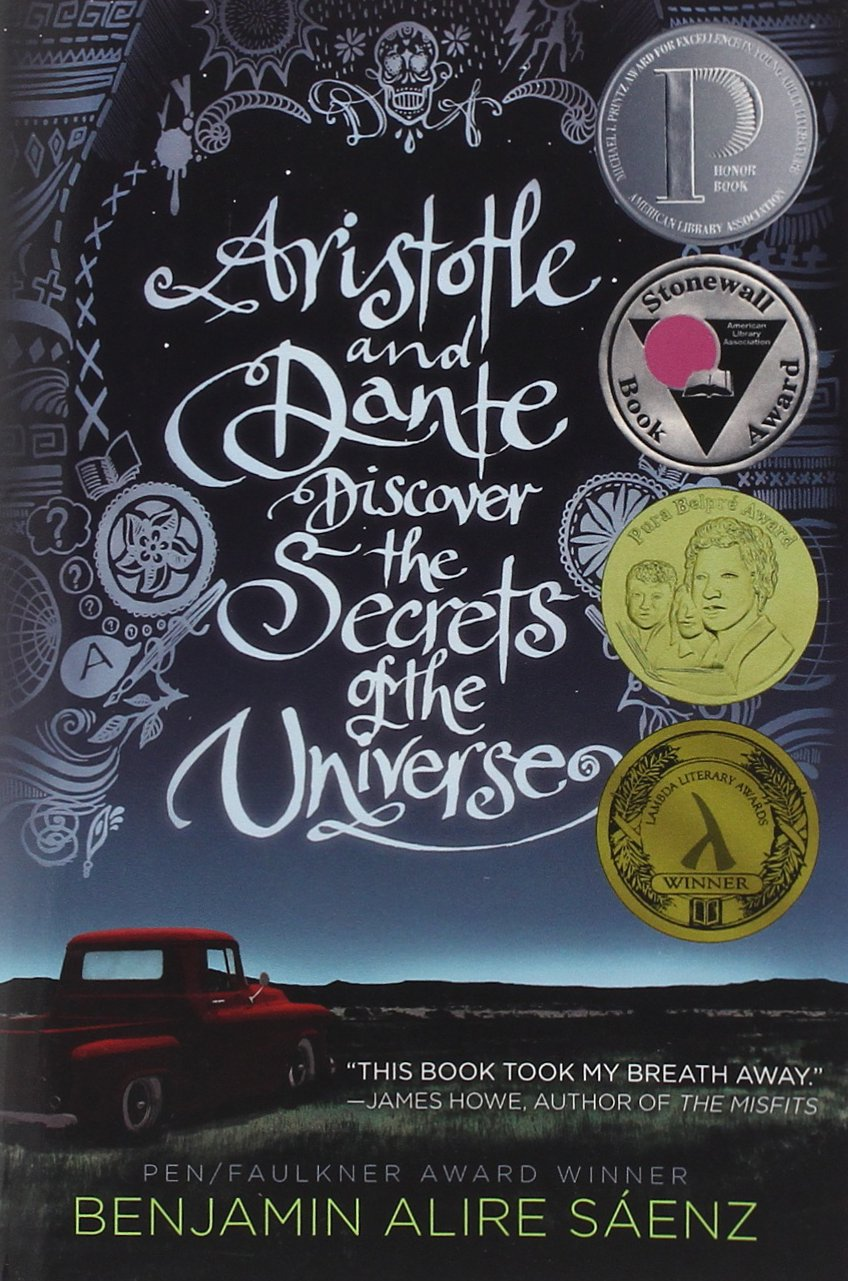 Image result for aristotle and dante discover the secrets of the universe cover