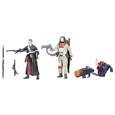 Star Wars Force Link Chirrut Imwe & Baze Malbus 2-Pack: Toys & Games