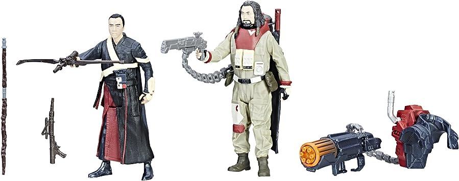 Hasbro Star Wars Force Link Chirrut Imwe & Baze Malbus 2-Pack - Kits de Figuras de Juguete para niños (4 año(s), Multicolor, Niño/niña, 99 año(s), Dibujos Animados, Acción / Aventura): Amazon.es: Juguetes