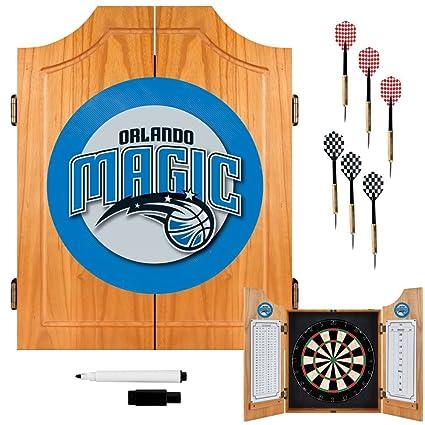Amazon.com: NBA Orlando Magic madera Dart Gabinete Set ...