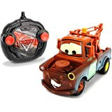 "Dickie Toys 203084008 - ""Cars 3 Turbo Racer Hook Mater, RC Fahrzeug, ferngesteuertes Auto, 1:24, 17cm"
