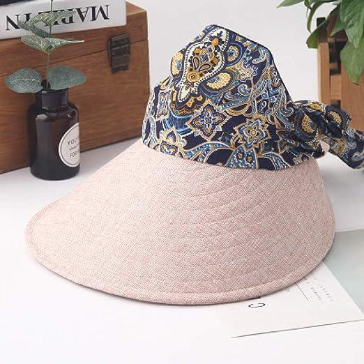 kyprx Skullies y amp; Gorros Mujeres Grandes Aleros UV Sombrero ...