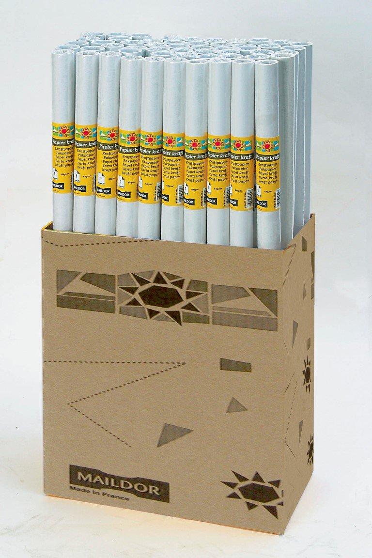 Clairefontaine Kraft Rolle 395701-Rollo de papel de estraza 1 m x ...