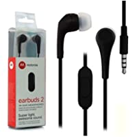 Fone de Ouvido Motorola Earbuds 2 - SH006BK Preto
