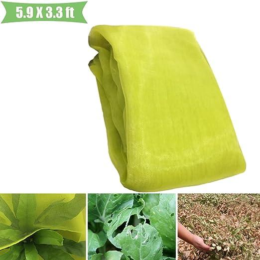 MAZU Malla de micromalla para plantas protección contra rayos UV e ...