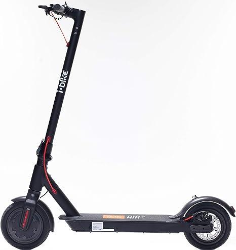 i-Bike Mono Air S, Monopattino Elettrico Unisex Adulto, Nero