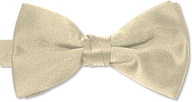 Champagne Satin 2 1//2 Bow Tie