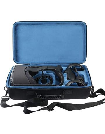 VR Storage Bag FOR OQ Case OQ All-in-One VR Gaming Headset Caja de Almacenamiento Estuche de Viaje Estuche de Viaje Estuche de Transporte de Material Duro Bolsa de Almacenamiento con Correa para
