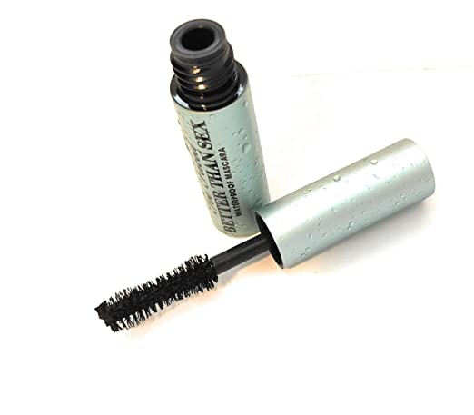 Too Faced Better Than Sex Waterproof Mascara Black Mini 0.17 oz best waterproof mascara