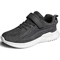 ChayChax Kids Lightweight Athletic Running Shoes Breathable Slip On Sneakers Boys Girls Tennis Shoes