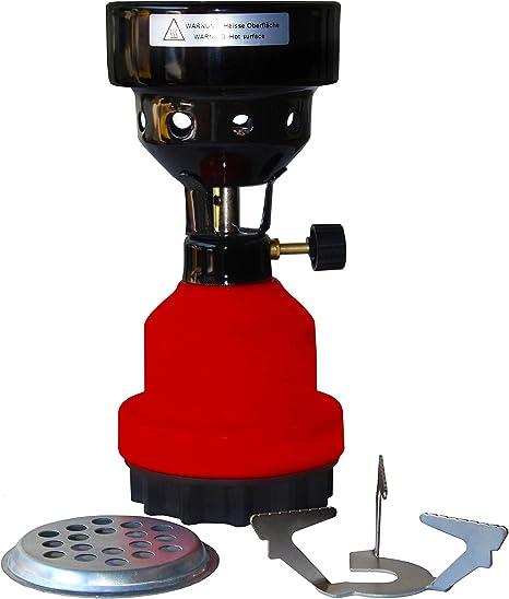 Scheffler - Hornillo de gas 2 en 1, quemador de gas con ...