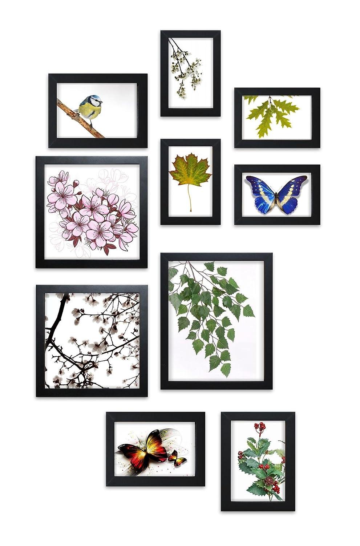 Close Up® Design Rahmen Collage Set 10-teilig, 4 versch. Größen ...