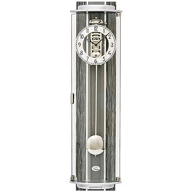Reloj De Pared - AMS Funk - Reloj de pared con péndulo Madera Haya maciza - Reloj de péndulo: Amazon.es: Joyería