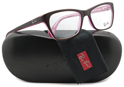 1f54c5e55e9 Ray-Ban RB5298 Eyeglasses Frame Top Brown Pink (5386) RB 5298 5386 53mm  Authentic  Amazon.ca  Shoes   Handbags