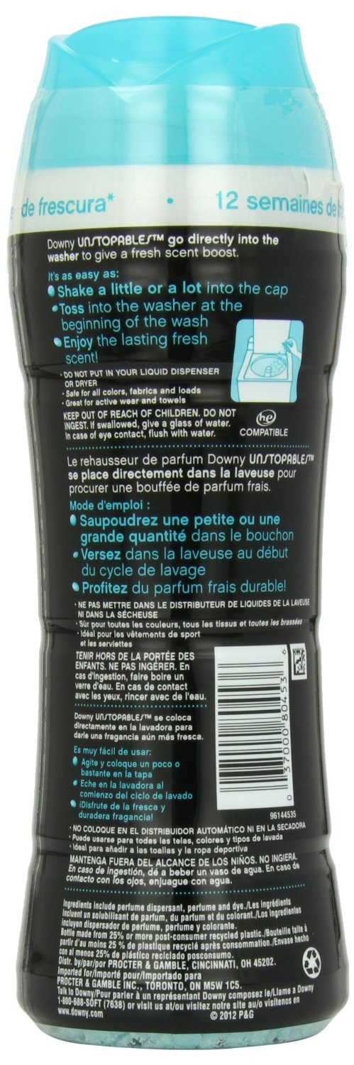 Amazon.com: Downy Unstopables In Wash Scent Booster Fresh Scent 13.2 Oz (pack of 2): Home & Kitchen