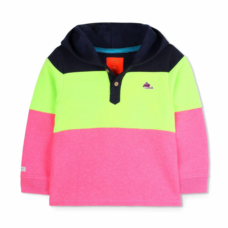 Cherry Crumble Crisp Hooded Sweatshirt for Boys /& Girls
