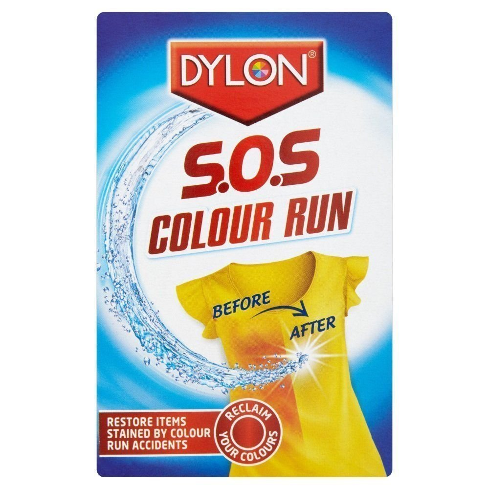 2 x Sachet DYLON SOS Colour Run Remover Laundry - Reclaim Your Colour 75ml Pack. etrade