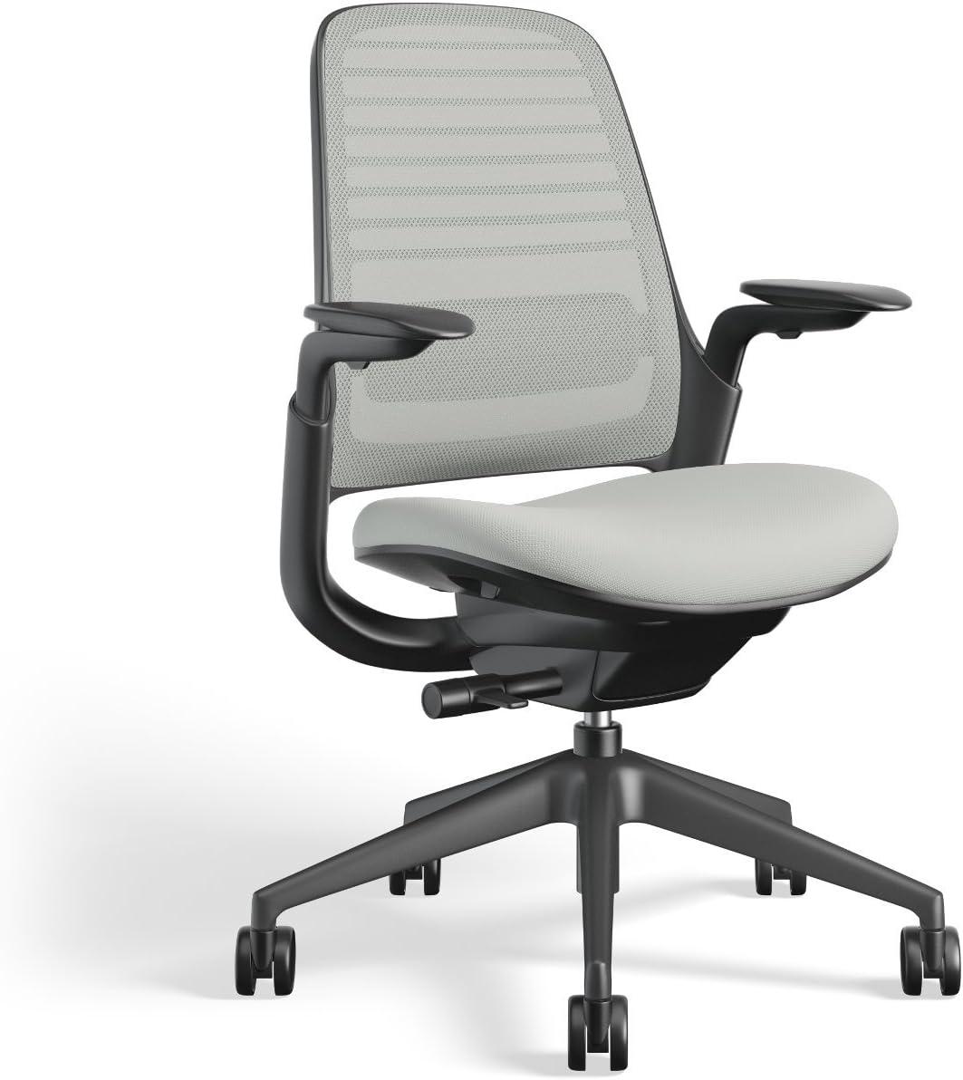 Steelcase Series 1 Work Office Chair, Nickel